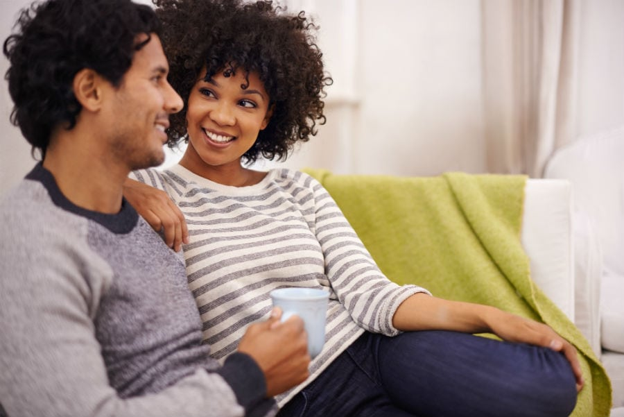When a friend does not support an interracial relationship, what should you do?