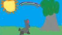 Child27s_drawing_of_a_rabbit2C_a_tree2C_and_a_rainbow