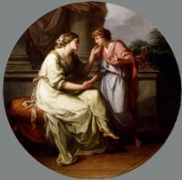Papirius20Praetextatus20Entreated20by20his20Mother20to20Disclose20the20Secrets20of20the20Deliberations20of20the20Roman20Senate20by20Angelica20Kauffman