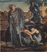 The_Finding_of_Medusa_1888-1892_Edward_Burne_Jones