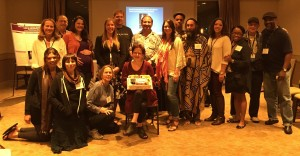 Transformative Social Change faculty and students celebrate Donna Nassor's dissertation